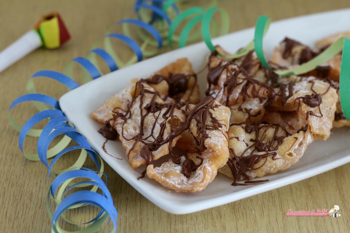 Frappe di Carnevale nutella
