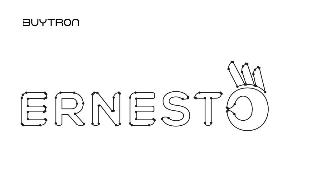 ernesto nuovo logo rebranding