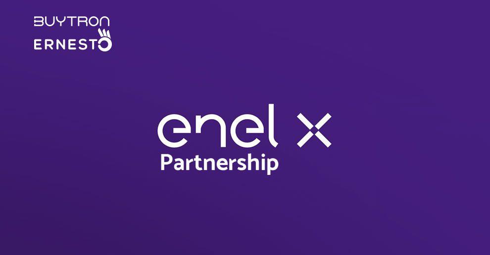 Nasce la partnership tra Enel X ed Ernesto