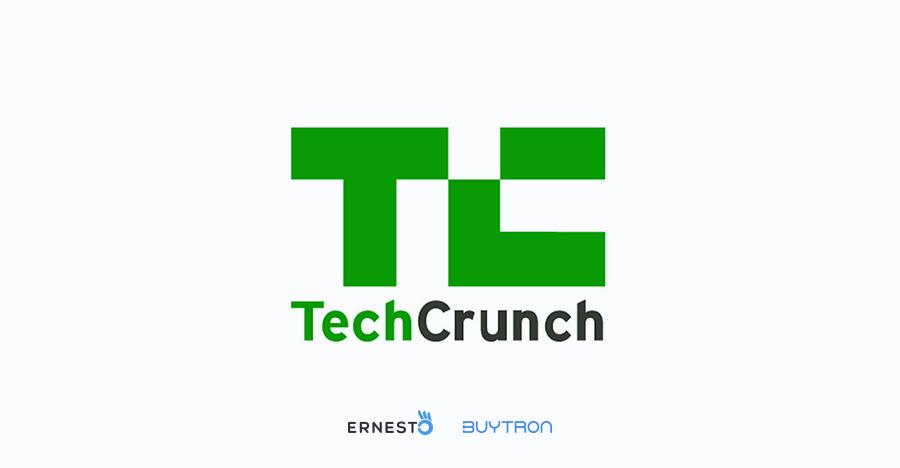 Buytron e Ernesto al TechCrunch 2019 a San Francisco