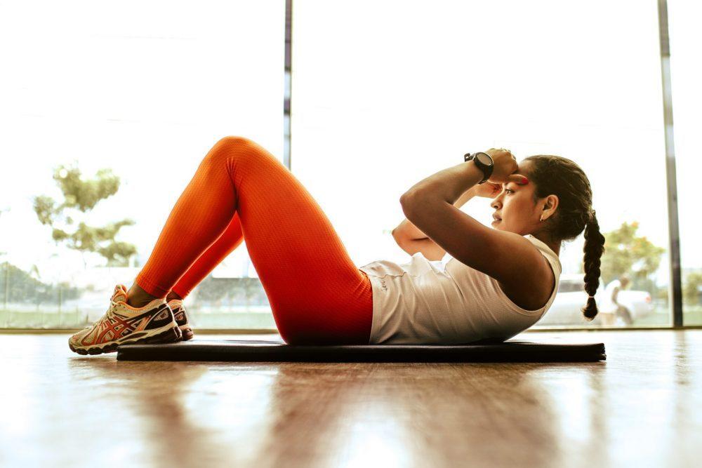 training fitness salute