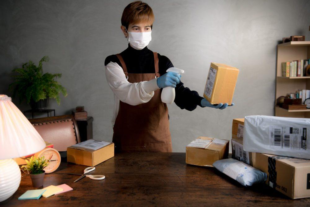 esempio sanificare casa Covid-19