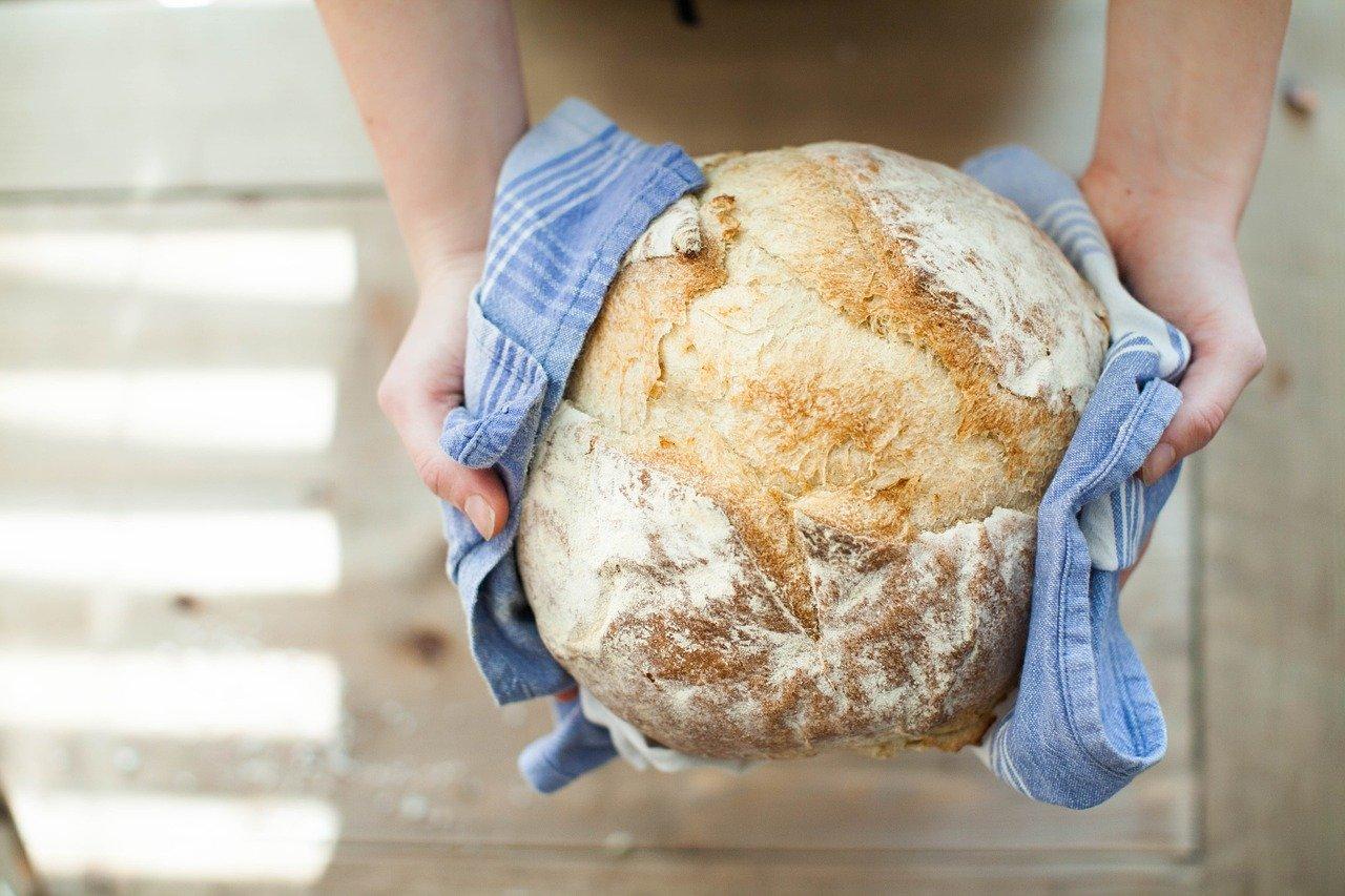 Pane fatto in casa con lievito fresco