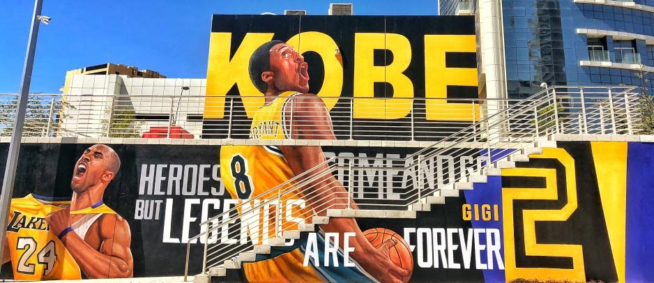 Kobe Bryant Murale
