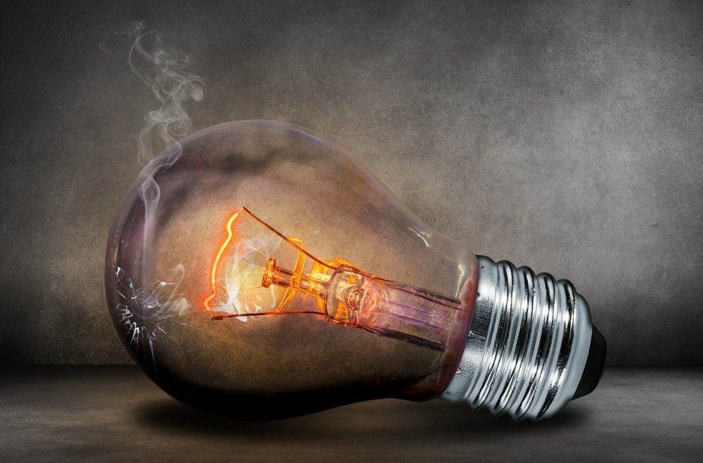 Interruttore difettoso lampadina fulminata