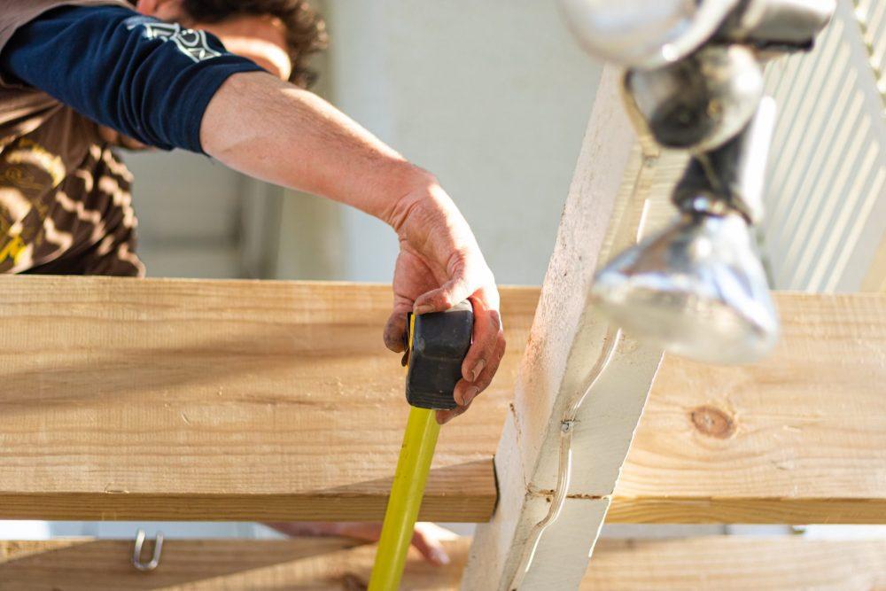 costruttore di case in legno