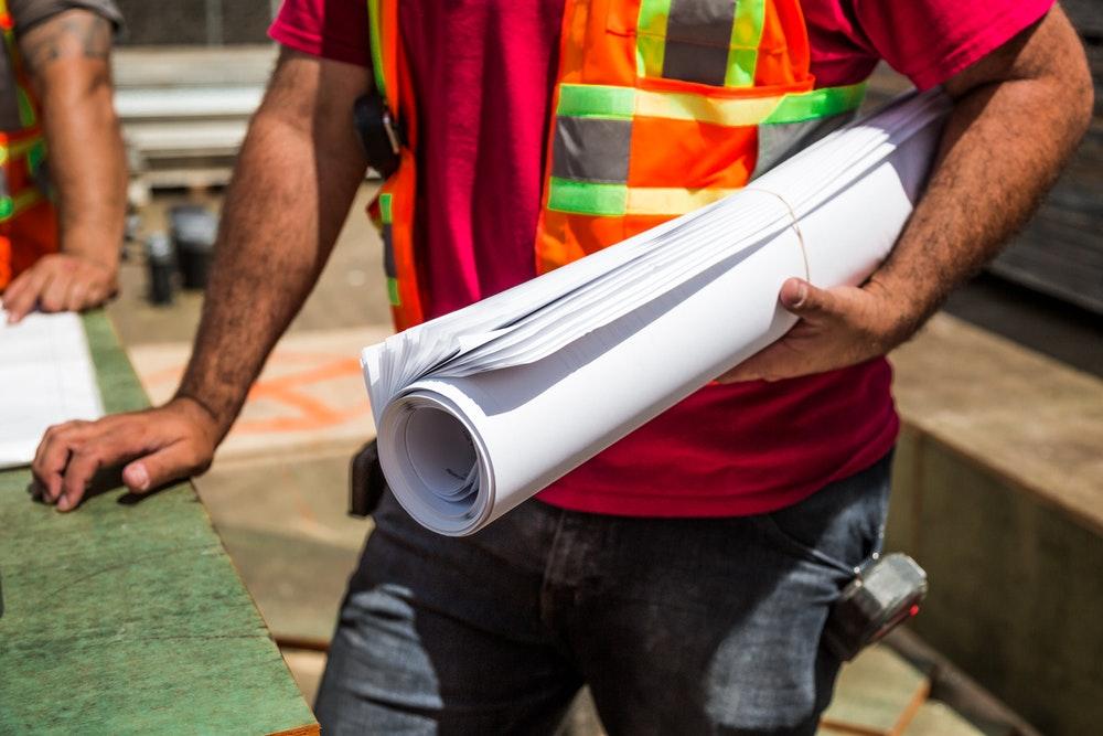 materiali edili e supervisione del cantiere
